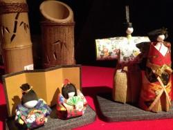 売店(手作りひな人形)